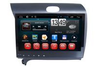 rádio de carro para kia venda por atacado-1G RAM 16G ROM Android 6.0 A7 Quad Core carro DVD rádio player de vídeo gps de navegação para Kia k3 2010 jogador multimídia carro