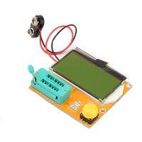 testeur de transistor esr achat en gros de-Mega328 Transistor Diode De Testeur Diode Capacitance ESR MOS / PNP / NPN L / C / R Bien Travailler
