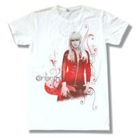 ingrosso nuova immagine della camicia bianca-Orianthi Cover Believe Image White T Shirt Nuova Soft Guitar ufficiale