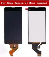 afficher z1 achat en gros de-original pour Sony Xperia Z1 Mini Compact D5503 M51W Écran Tactile Digitizer Assemblée