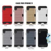 Wholesale Card Slot Dirt resistant TPU PC Case For Iphone s X S Plus Plus For Samsung A8 Star A72018