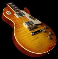 gitarrenhals verkauf großhandel-Sonderangebote Shop-Auswahl # 28 Ronnie Montrose '58 E-Gitarre STP Burst One Piece Mahagoni Korpus und Hals