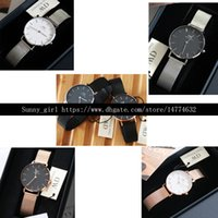Wholesale champagne glass box - Best Version 32mm Stainess Steel Watch White Black Face Box is optional in this link