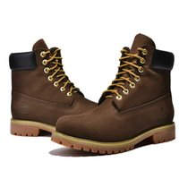 Wholesale head winter shoes - Men's shoes British Martins boots leather head layer leather scrub round head car suture tooling boots rhubarb short boots