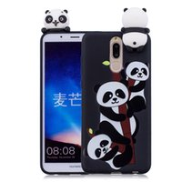 Wholesale huawei silicone 3d for sale - For Coque Huawei Mate Lite Case D Cartoon Cat Panda Soft Silicon Back Cover For Huawei Mate Lite Mate10 Lite Maimang