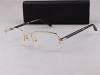 Wholesale Plain Eye Glasses For Men - MB Brand New Eye 149 Glasses Frames for Men Glasses Frame Gold Silver TR90 Optical Glass Prescription Eyewear Full Frame