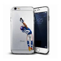 Wholesale Soccer Phone Cases - Cool Customize Soft TPU American Footbal soccer phone case For iPhone 8 8plus 7 7plus 6s 6plus