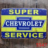 ingrosso vecchi motori-Campione d'Europa Shell Motor Olio Garage Route 66 SEGNO DI LATTA Vintage retrò Vecchia parete Metallo Pittura ART Bar Man Ristorante Decorazione della casa