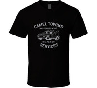 d2b160ac9619 Camel Towing Service Funny Toe Cool Truck Drivers College Party Drinking T  Shirt Cool Casual pride t shirt men Unisex