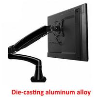 luftstreben großhandel-Aluminium 27 zoll 2-7 kg 360 drehen schelle air press gasdruckfeder lcd tv tischhalterung monitor gasfeder bildschirm desktop unterstützung halterung