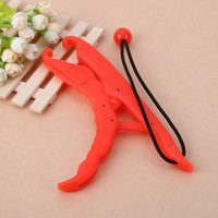 25cm ABS Plastic Floating Fish Grip Team Catfish Controller Fishing Lip Grip Floating Gripper Fishing Pliers Pesca Fish Holder