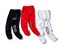 ingrosso marchio postale-18 lettere classiche paio di pantaloni casual piedi all'inizio dell'autunno nuovi sport marea pantaloni di marca diretta post gratuito