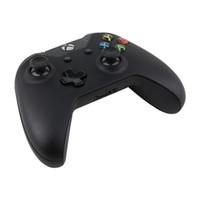 almohadillas xbox al por mayor-El controlador inalámbrico Gamepad más nuevo Game Pad Metal PC Joystick para consolas XBOX One PC con Pack LOGO