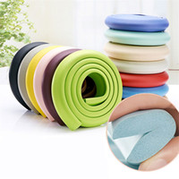 Wholesale 2m baby safety for sale - 2M Baby Safety Soft Corner Protector Baby Desk Table Protective Strip For Kids Children Security Cushion Anti crash Protector