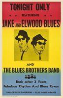 affiches de cinéma achat en gros de-Affiche vintage en soie Art du film The Blues Brothers 20x30 24x36 24x43