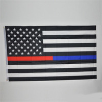 Wholesale football fans flags resale online - 90 cm USA Flags White And Blue Stars Printed Strip American National Banner Used For World Cup Football Fans Cheer Up qta ZZ