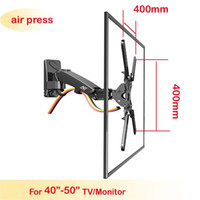 Wholesale tv mount holder - NB F350 40inch 42inch 46inch 50inch retractable air press aluminum swivel LCD PLASMA tv bracket lcd wall mount led stand holder