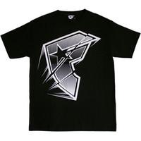 ingrosso stelle di camicia nera-T-shirt con stelle e cinturini famosi Flash Black White