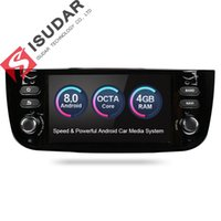 Wholesale Radio Gps Systems - Isudar Car Multimedia Player GPS Android 8.0 1 Din Stereo System Car Radio Audio Auto For Fiat Linea Punto 2012-2015 Octa Core