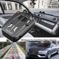 ingrosso v9 auto-Car Trucker Speed V9 Rilevatore radar laser Avviso avviso vocale DC 12V 16 Band 360 ° Auto