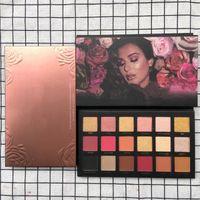 Wholesale makeup kits for girls - H Rose gold Makeup palette Cosmetics pemastered Eyeshadow Palette Eye Makeup kit Eye cosmetics for girl teens 18 color