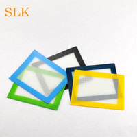 Good toughness 4.33*3.35 inch square mini shape silicone mats wax non-stick pads for rolling dry herb