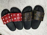 herren slipper designs großhandel-2019 NEUES Design Slipper Gear Bottoms Herren Striped Sandalen Kausal Rutschfeste Sommerhose Slipper Flip Flops Slipper BESTE QUALITÄT