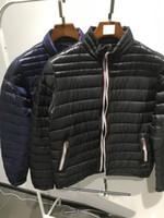 ingrosso qualità più il formato-M115 DANIEL Marca anorak uomo primavera autunno giacca uomo sottile giacca Inverno Migliore qualità Caldo Plus Size uomo Giù parka giacca anorak