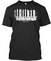 ingrosso tè della tastiera-La t-shirt Premium Tee Maglietta Joyful Keyboard Player