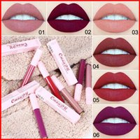 Wholesale rouge make up for sale - Group buy CmaaDu Colors Matte Liquid Lipstick ml Lip Gloss Make up Lipgloss Waterproof rouge a levre
