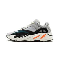 new styles 8a009 3f9ba 2018 nuevas zapatillas Wave Runner 700 gris sólido blanco naranja OG B75571  WaveRunner zapatillas deportivas para hombre con fondo y material 3M