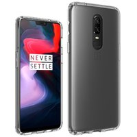 Wholesale oneplus phone for sale - For OnePlus Transparent Case Shockproof Soft TPU Bumper Clear PC Back Cover Air Cushion Phone Fitted Cases For One Plus