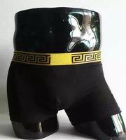 Wholesale best pc design - sell best Brand Panties Sexy Mens Solid Underwear Men Modal Boxer Short Male Cueca 3 Pcs Luxury Lace Design Underpant