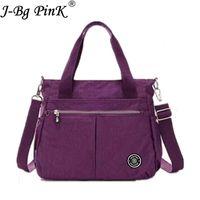 Wholesale big bag price for sale - Group buy J BG PinK Handbags Women Famous Brand Big Nylon Shoulder Sac Femme Bolsa Feminia Beach Bag Casual Tote Female Purse Dollar price D18102906