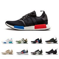 sports shoes f9fda 9e056 Adidas NMD Boost MD R1 Oreo Runner pk Nbhd Primeknit OG Triple Negro Blanco  Camo Running Shoes Hombres Mujeres zapatillas de deporte Runners hombres ...