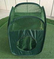 swing side achat en gros de-2018 Golf Trois Côtés Pratique Chipping Cages Net Combat Net Swing Golf Intérieur Extérieur Hiing Sida Équipement de Formation