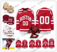Wholesale Custom Any Number Any Name Yellow Red White Jack Eichel Charlie Coyle Good Quality Stitched Hockey Jerseys