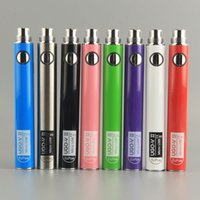 Wholesale ego usb charge - Original UGO-VII Battery 650 900mAh Ego 510 EVOD UGO V II Micro USB Passthrough Charge E Cigarettes Batteries With Usb Charger