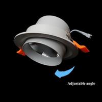 precio ligero llevado 5w al por mayor-110-240V 3W 5W 10W 15W 30W lámpara de techo LED ajustable de aluminio fundido a presión con 3 años de garantía precio de fábrica