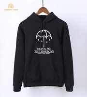 Wholesale warm tracksuits for women for sale – custom Famous Band Bring Me The Horizon For Adult Hoody Spring Autumn Womens Long Sleeve Pullovers Sweatshirt Warm Tracksuit Women