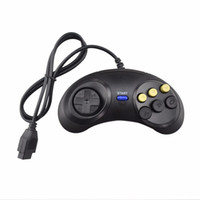 Wholesale joypad buttons for sale - Classic Game Controller Joypad for SEGA Genesis Button Gamepad for SEGA Mega Drive DHL FEDEX EMS