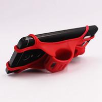стенд для навигации оптовых-6,5-дюймовый силиконовый ремешок держатель мобильного телефона велосипед Handbear кронштейн GPS подставка для велосипеда велосипед Мото для смартфона мобильный телефон навигации