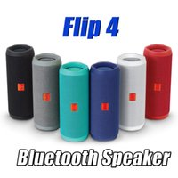 Wholesale Hot Flip portable wireless bluetooth speaker Music Kaleidoscope Flip4 Audio Waterproof bluetooth speaker Supports Multiple