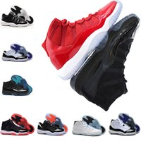 Wholesale brown velvet fabric - Basketball Shoes 11 11s sneaker cap and gown Low RE2PECT Velvet Heiress gym red Spaces Jams win 23 athletic Sports man designer Shoes