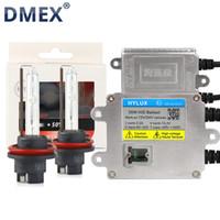xenon h1 ampul sakladı toptan satış-DMEX 1 Takım AC 35 W H1 H3 H7 H11 9005 HB3 9006 HB4 9012 HIR2 Hızlı Başlangıç Xenon HID Kiti Hylux A2088 HID Balast Yeaky Xenon Ampul