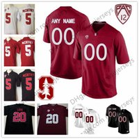 Wholesale Cardinals Red - Custom Stanford Cardinal College Football Jerseys Men Youth Kid black red white Personalized Stitched Any Name Number love Elway NCAA S-3XL