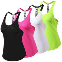 Wholesale loose yoga tops - New Breathable Backless Yoga Vest Sleeveless Solid Loose Quick Drying Running Gym Sport Yoga Shirt Women Fitness Tank Top