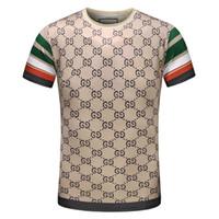 Wholesale Funny T Shirt Men - Wholesale men luxury diamond design Tshirt fashion t-shirts men funny t shirts brand cotton tops and tees D05