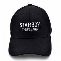 Wholesale xo hats for sale - Group buy Starboy Hats and Stargirl Hats XO Dad Hat Baseball Caps Snapback Hip Hop Caps Men and Women Summer STARBOY THEWEEKND hat