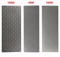 Wholesale thinning knife online - Professional Thin Diamond Sharpening Stone Knives Diamond Plate Whetstone Knife Sharpener Grinder Honing Tools